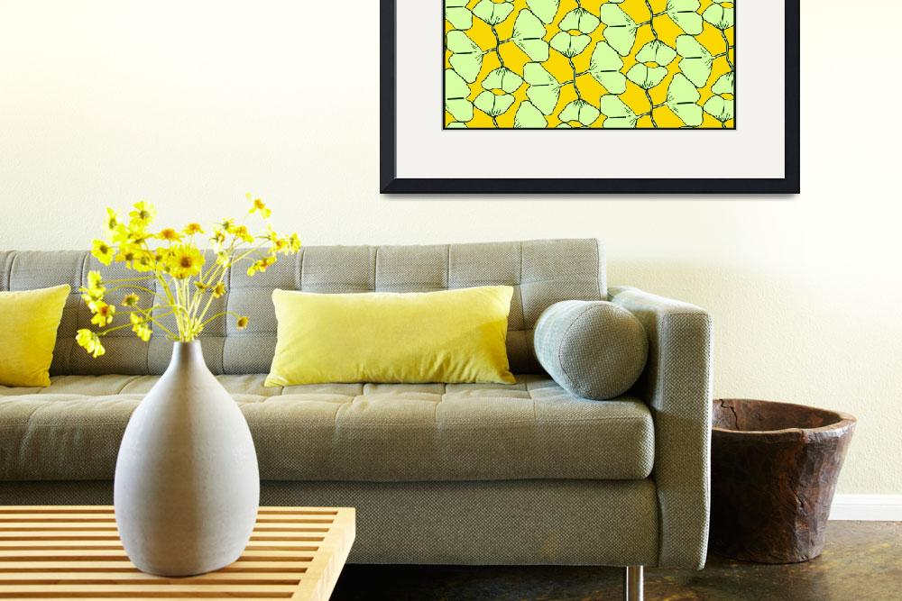 """""""Ginkgo Kisses&quot  (2010) by MaryDolan"""
