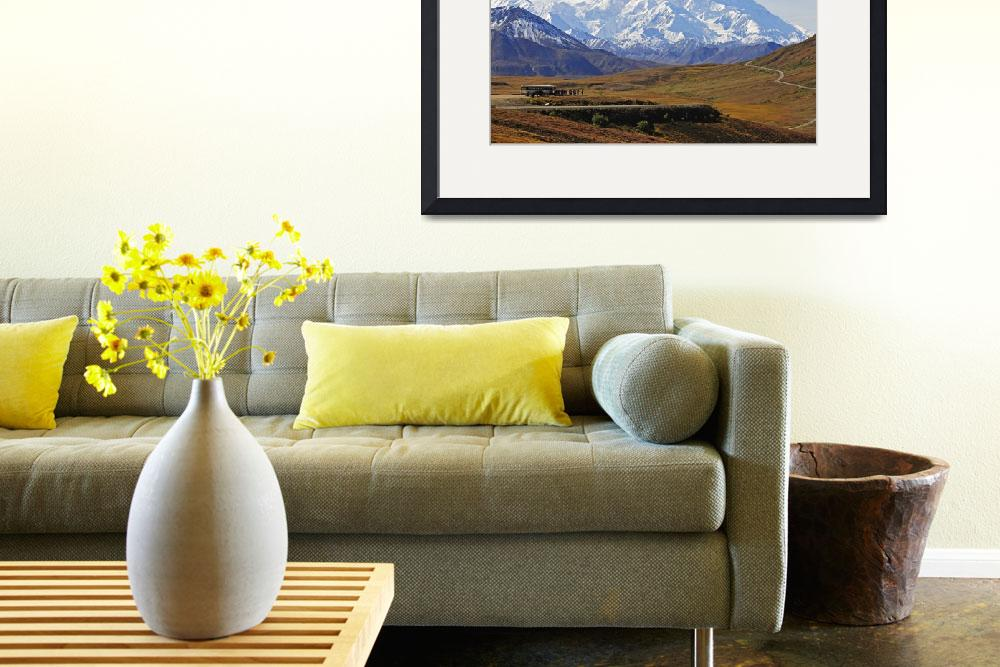 """""""Scenic view of Mt. McKinley from Stony Overlook du&quot  by DesignPics"""