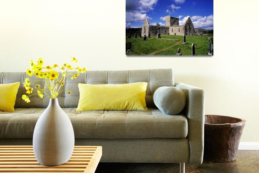 """Burrishoole Friary, County Mayo, Ireland""  by DesignPics"
