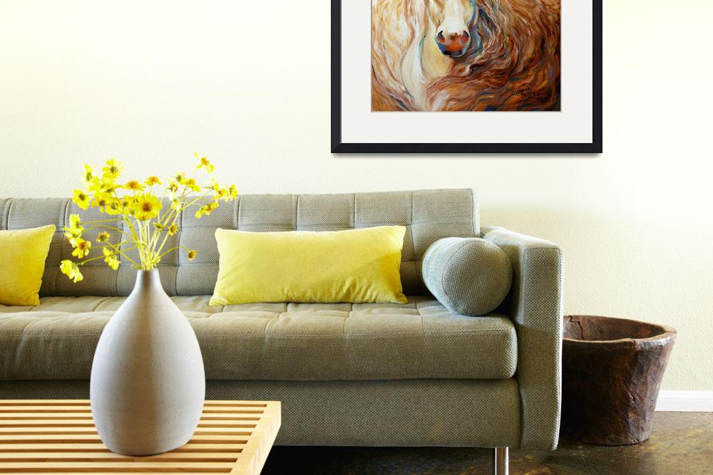 """""""Palomino Wind [SIGNED]""""  (2013) by MBaldwinFineArt2006"""