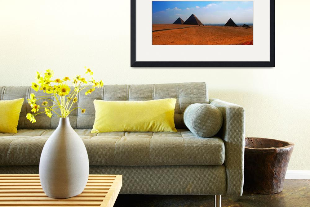 """""""Three Pyramids Of Giza&quot  (2005) by TheArtist"""