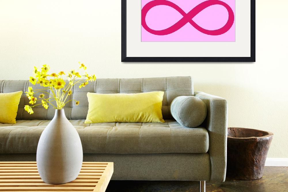 """""""Infinite Pink for Breast Cancer Awareness&quot  (2009) by crazyabouthercats"""