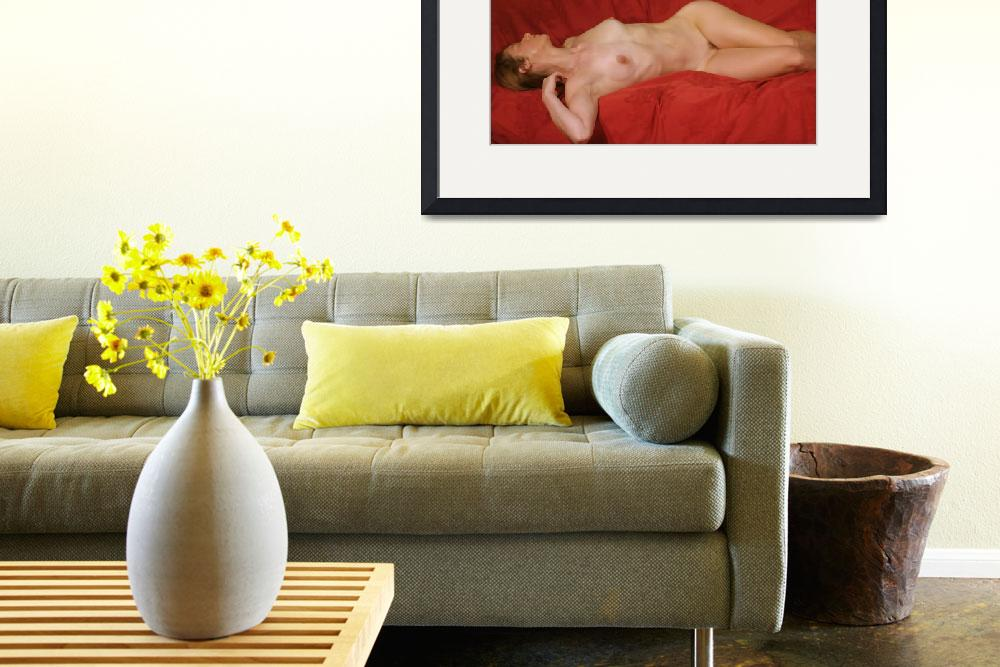 """""""Nude on the back in Modigliani style&quot  (2006) by NUDE"""