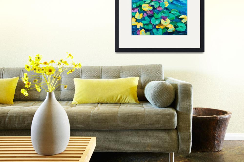 """""""water lily""""  (2012) by boyan"""