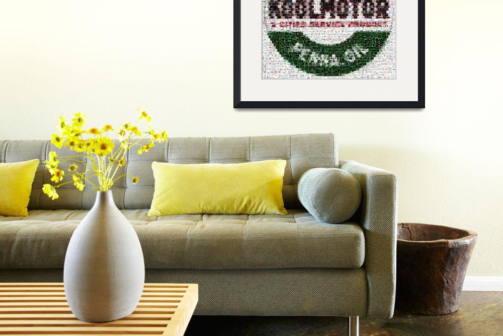 """""""Cities Service Project KoolMotor Montage Mosaic MU&quot  (2007) by finalscore"""