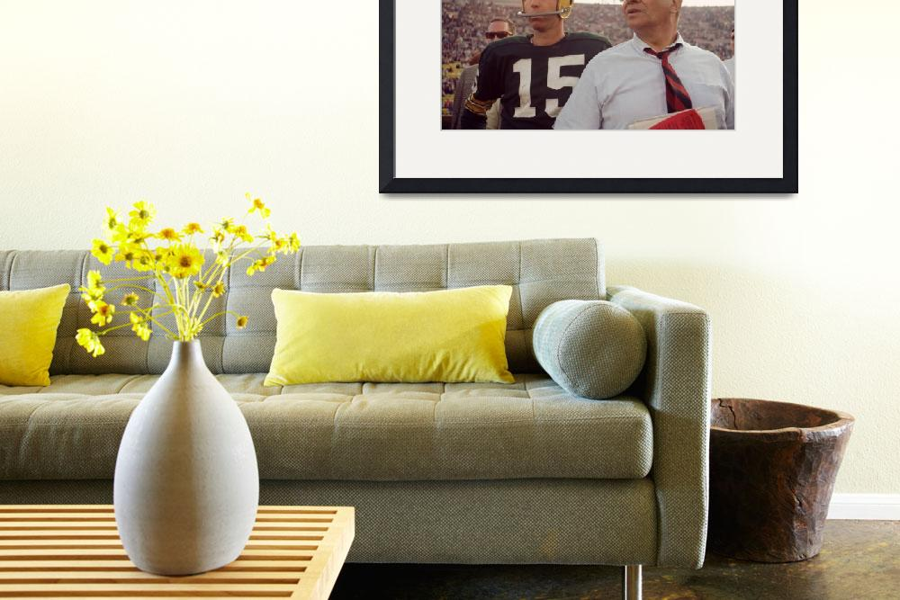 """""""Vince Lombardi with Bart Starr&quot  by RetroImagesArchive"""