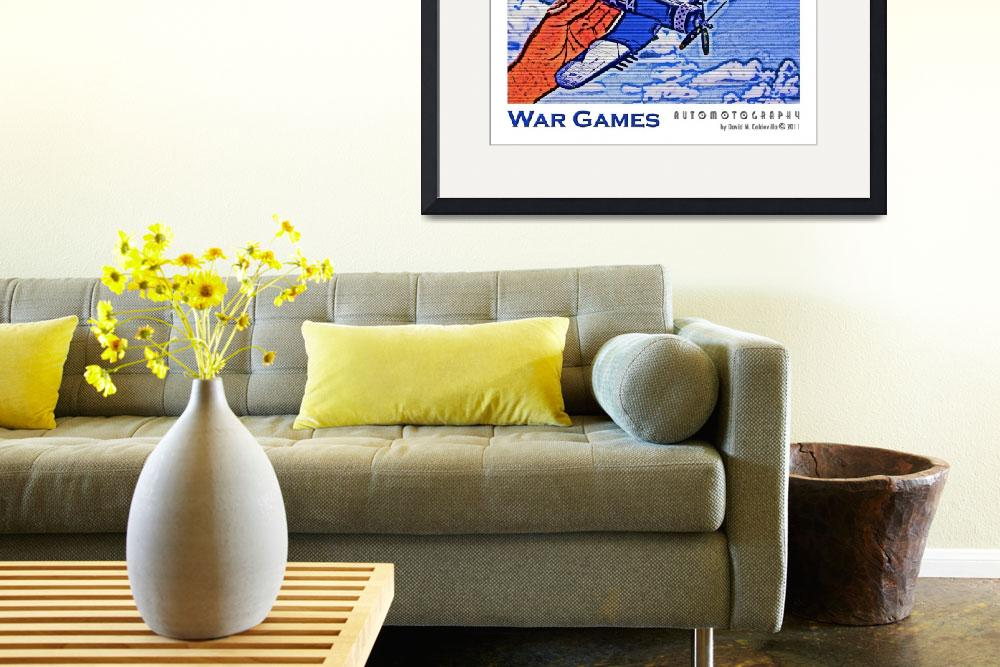 """""""War Games""""  (2011) by Automotography"""