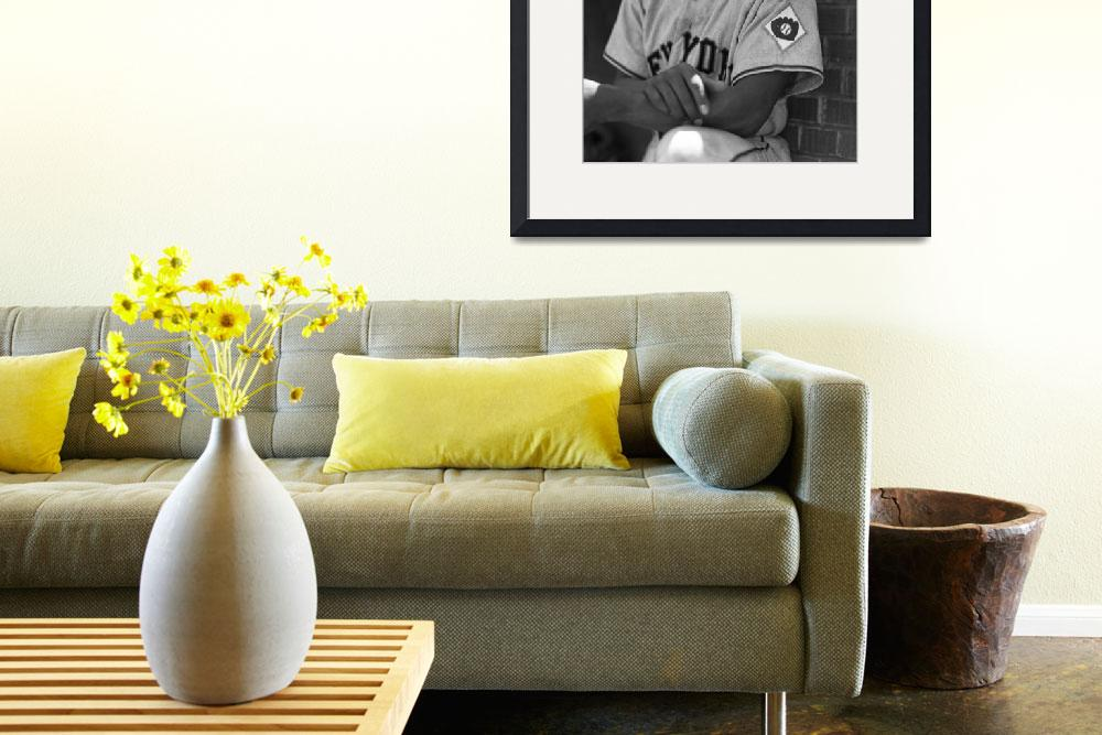 """""""Willie Mays&quot  by RetroImagesArchive"""