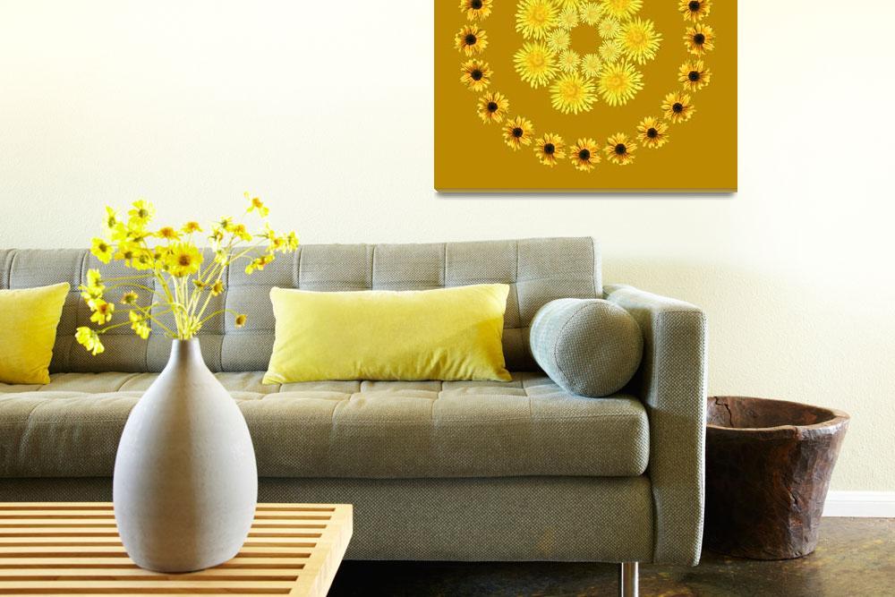 """Dandy Sunflower""  (2007) by libelle"