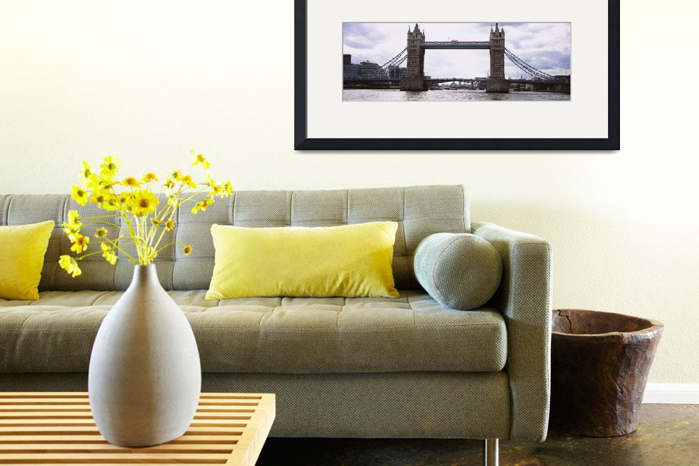 """""""Drawbridge across a river&quot  by Panoramic_Images"""
