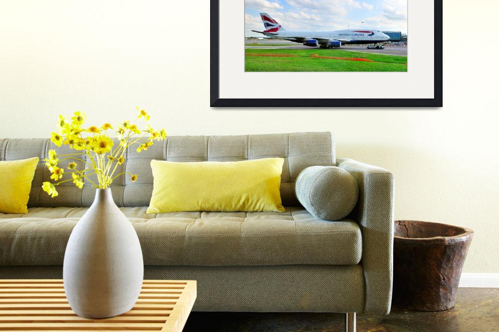 """""""BA 747/400&quot  (2009) by JoaoPonces"""