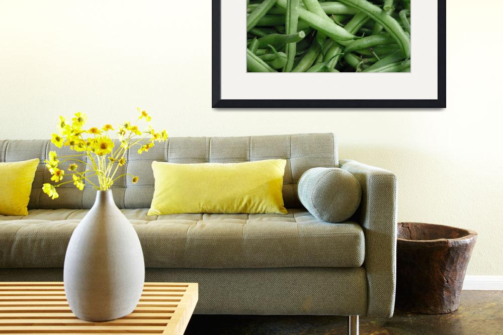 """""""Green Beans&quot  (2011) by kimmerhaw"""