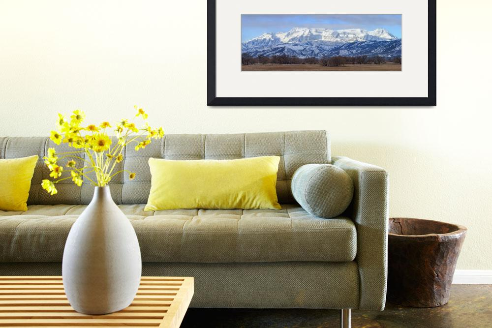 """Mt. Timpanogos Panorama&quot  (2010) by dkocherhans"