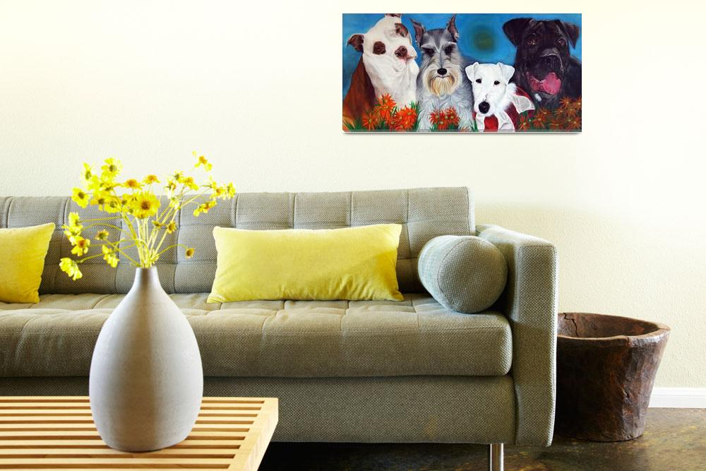 """""""Bright and Beautiful - """"The Joys of Therapy""""&quot  (2007) by ArtPrints"""