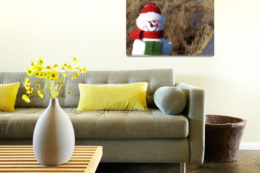 """""""Snowman waiting for Christmas 7&quot  (2008) by Albertphoto"""