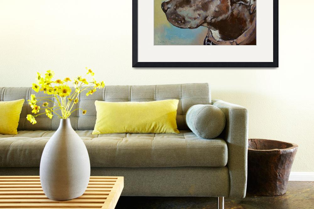 """""""Dog Portrait&quot  by creese"""