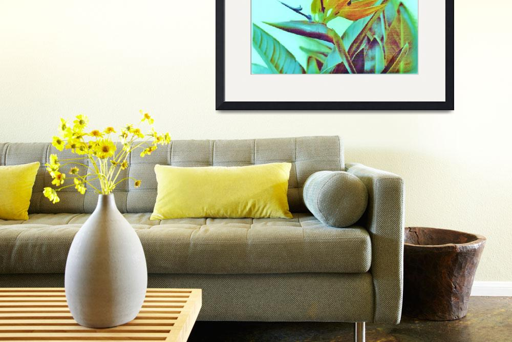 """""""Bird of Paradise&quot  by EthosArtandDesign"""