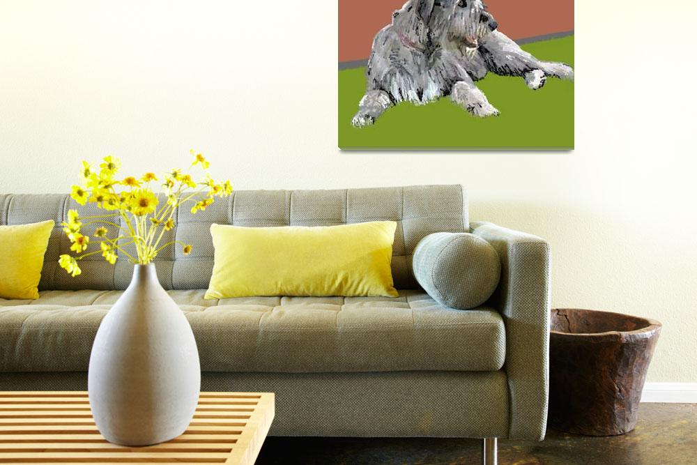 """""""Wolfhound 1&quot  (2011) by RFPRICE"""