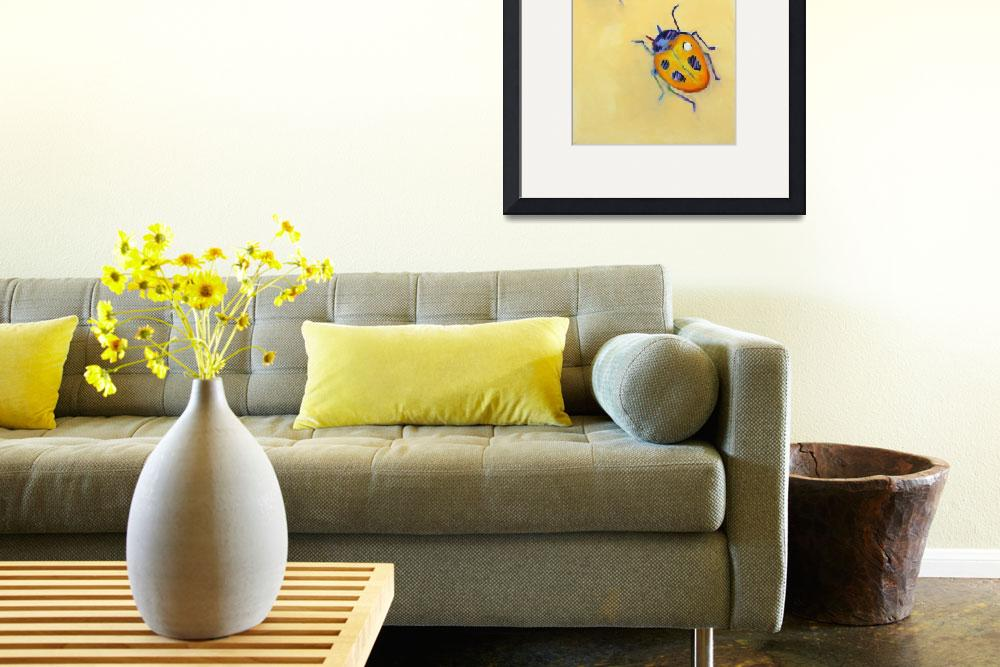 """""""Yellow Ladybugs&quot  by AnnTuck"""