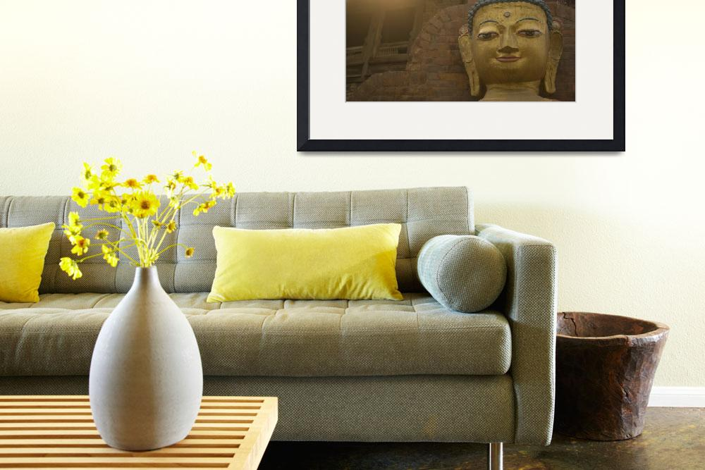 """""""Buddha Statue&quot  (2009) by amybrown"""