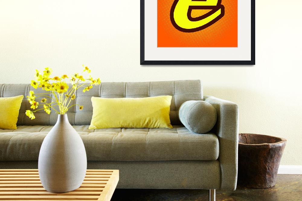 """""""E-reeses&quot  by LetterPopArt"""