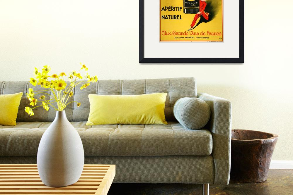"""""""Fred Zizzi Vintage Poster&quot  by FineArtClassics"""