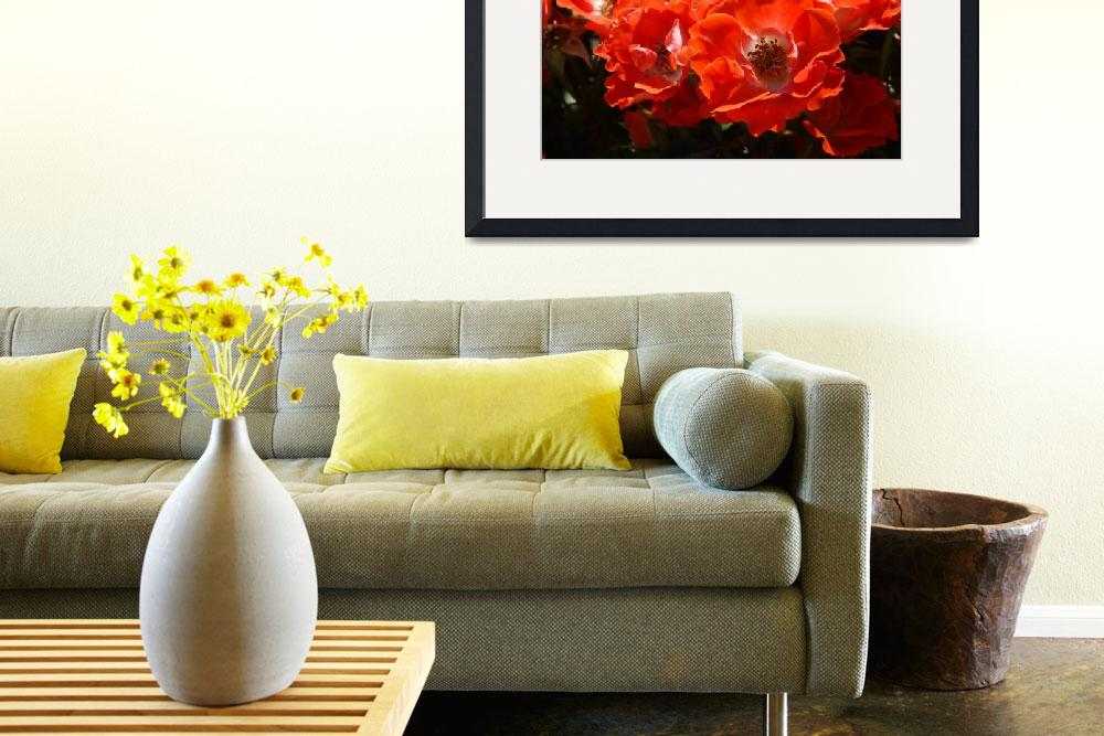 """""""Christmas Gift Gallery RED ROSES Art Gifts Baslee""""  (2009) by BasleeTroutman"""