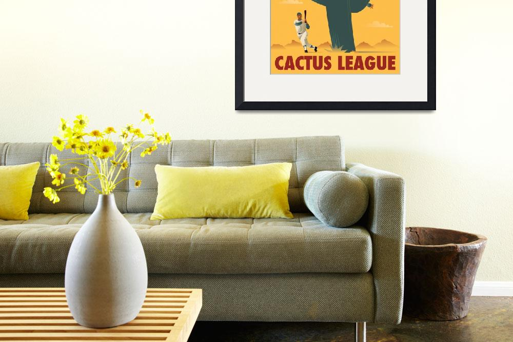 """Cactus League&quot  (2010) by johnwtomac"