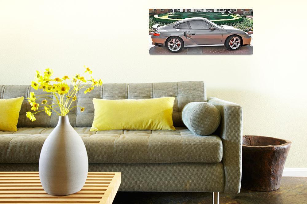 """Porsche 911 Turbo Rotunda""  by sabreentertainment"