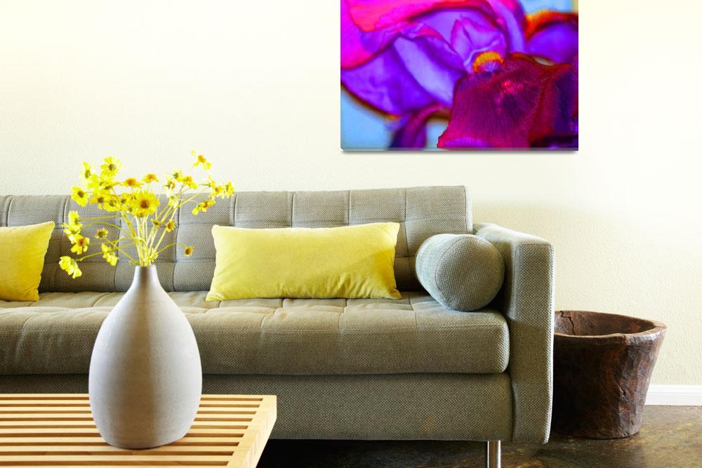 """Abstract Iris""  (2012) by KsWorldArt"
