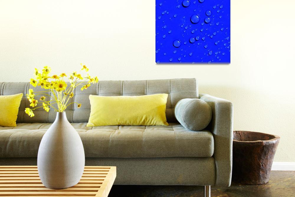 """Blue-Drops, v6, Edit L""  (2014) by nawfalnur"