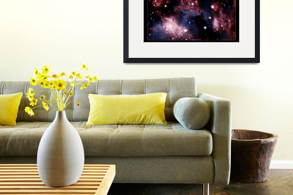 """""""""""Sage"""" Nebula&quot  (2010) by digitalspaceabstracts"""