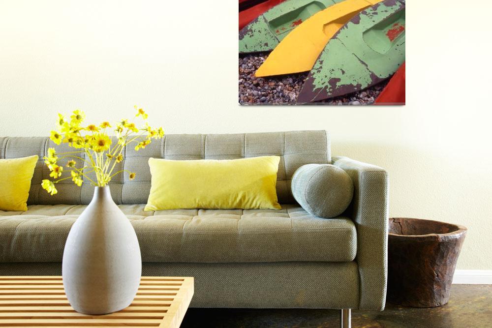 """Canoes""  by SteveOutram"