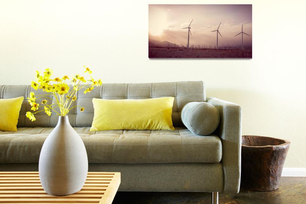 """Windmills Dance Sweet California&quot  by amynnasser"