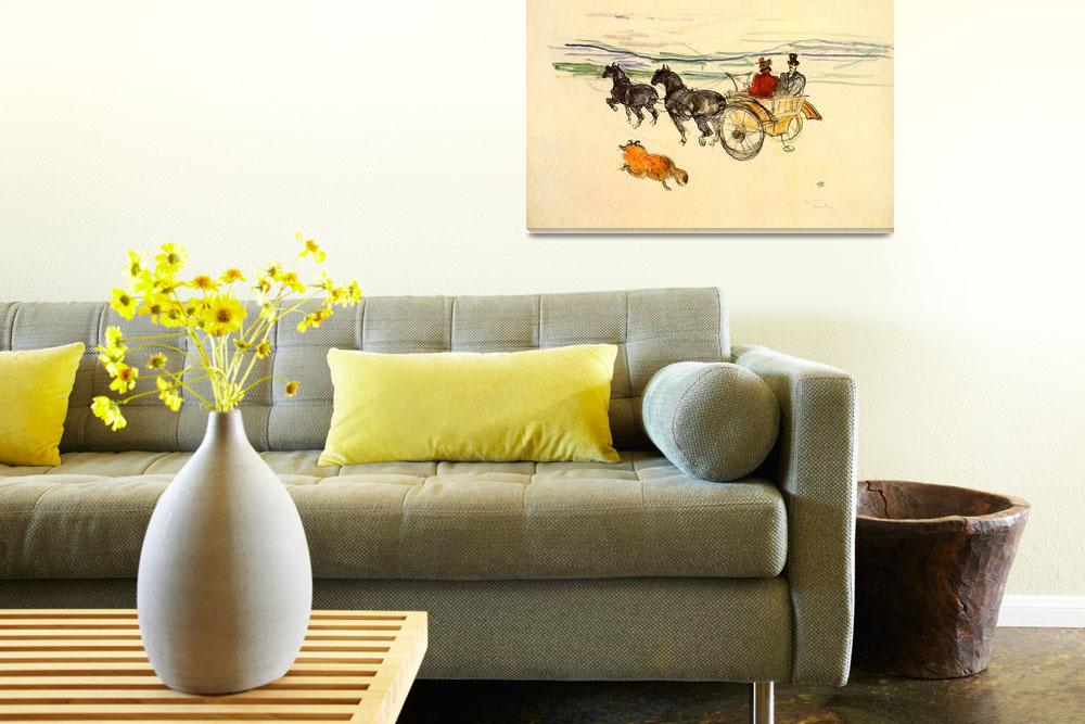 """""""Horse Carriage""""  by ArtLoversOnline"""