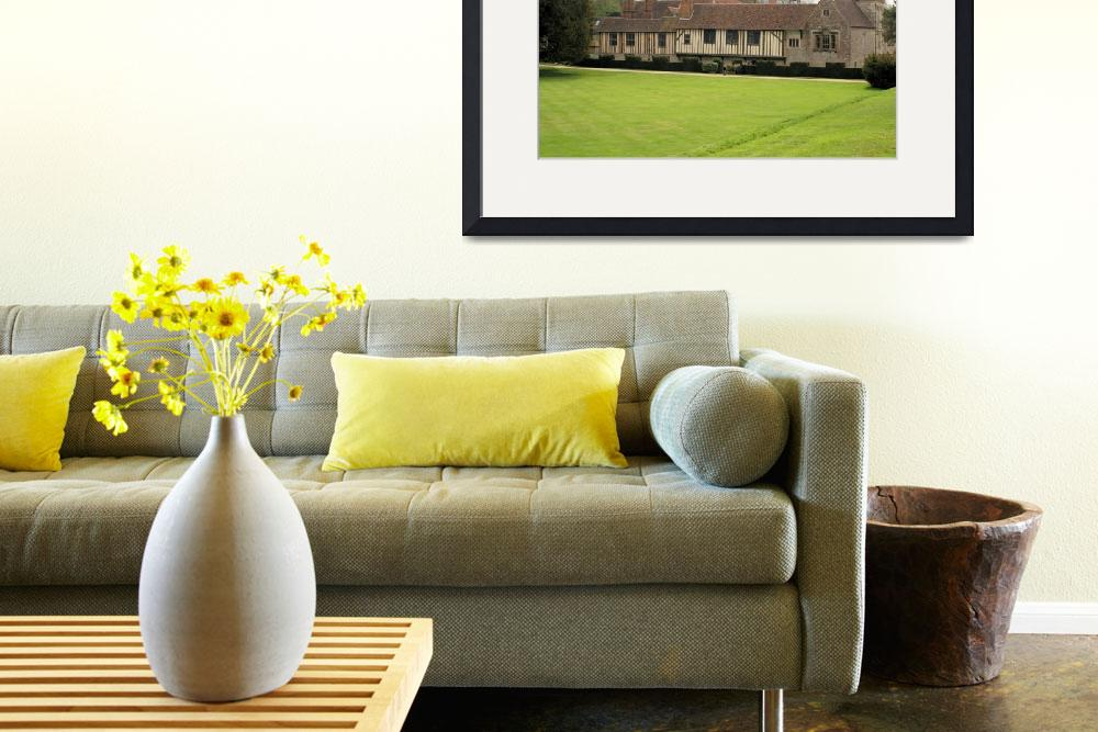 """""""Medieval Manor House 10&quot  by rhallam"""