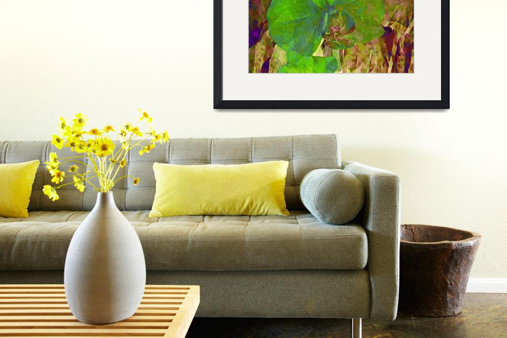 """""""Green Orchid Trio&quot  by LyndaLehmann"""