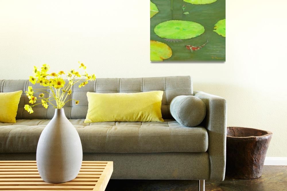 """""""Tranquil Summer Afternoon&quot  (2007) by Thi"""