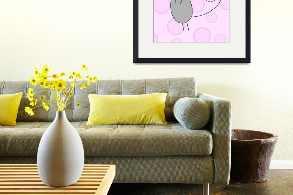 """""""Mouse Nuraery Art&quot  (2011) by ChristyBeckwith"""