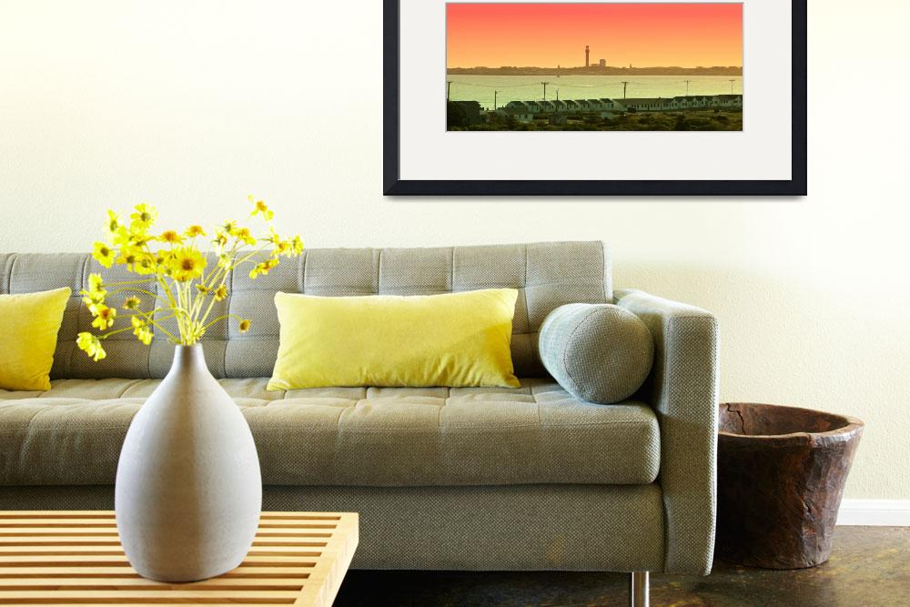 """""""Cape Cod : Provincetown Panorama&quot  (2013) by ChrisSeufert"""