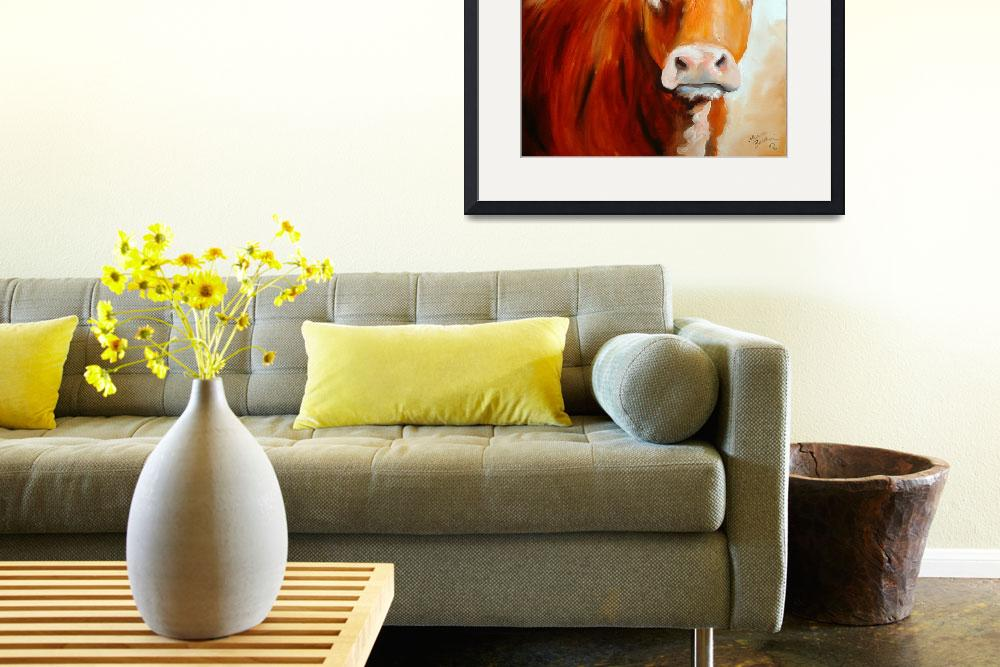 """""""COW 18 18""""  (2006) by MBaldwinFineArt2006"""