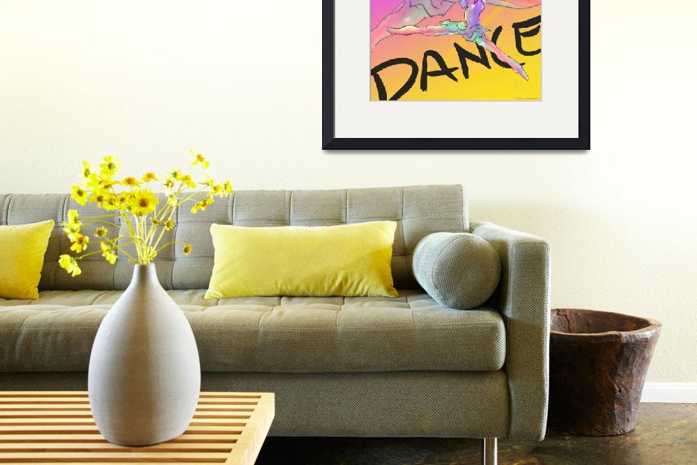 """""""Dance Poster 1&quot  (2004) by CrystalCarey"""