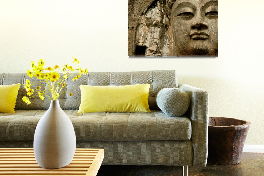 """""""Buddhist Icon Face&quot  (2010) by isa"""