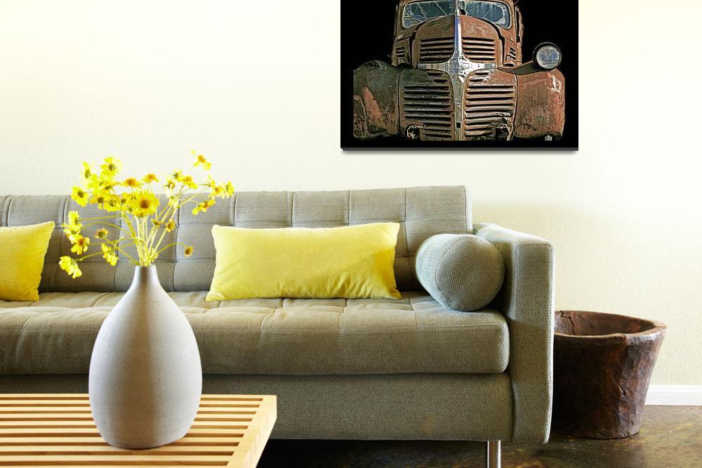 """""""Rusty Truck""""  (2008) by FantaSeaArt"""