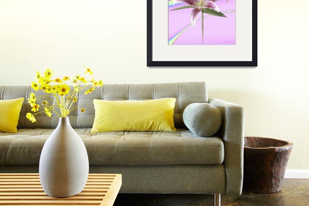 """Abstract flower collection (10 of 16)&quot  (2012) by WallArtDeco"