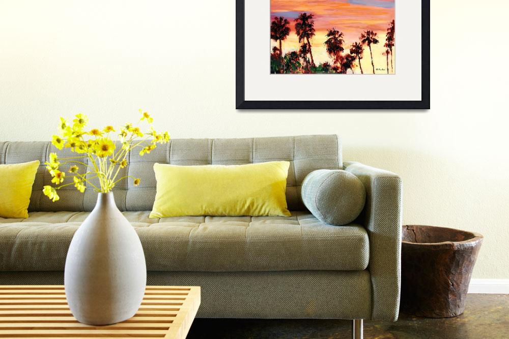 """""""San Diego Silver Sunset&quot  (2010) by RDRiccoboni"""