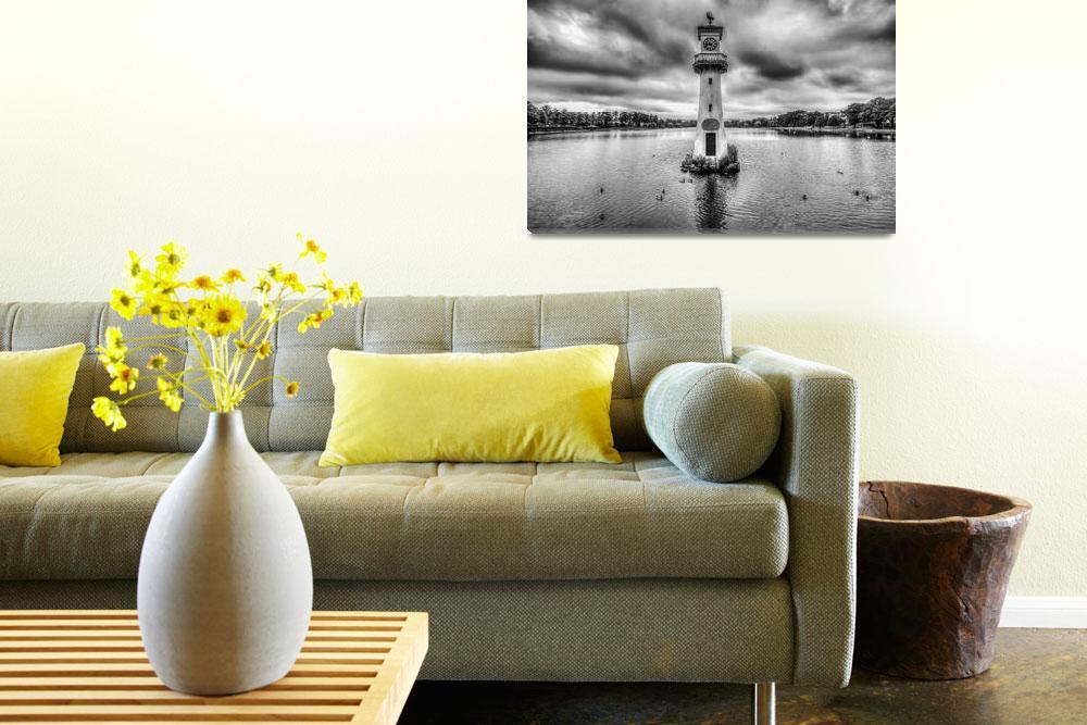 """""""Scott Memorial Lighthouse Roath Park Cardiff""""  by StevePurnell"""
