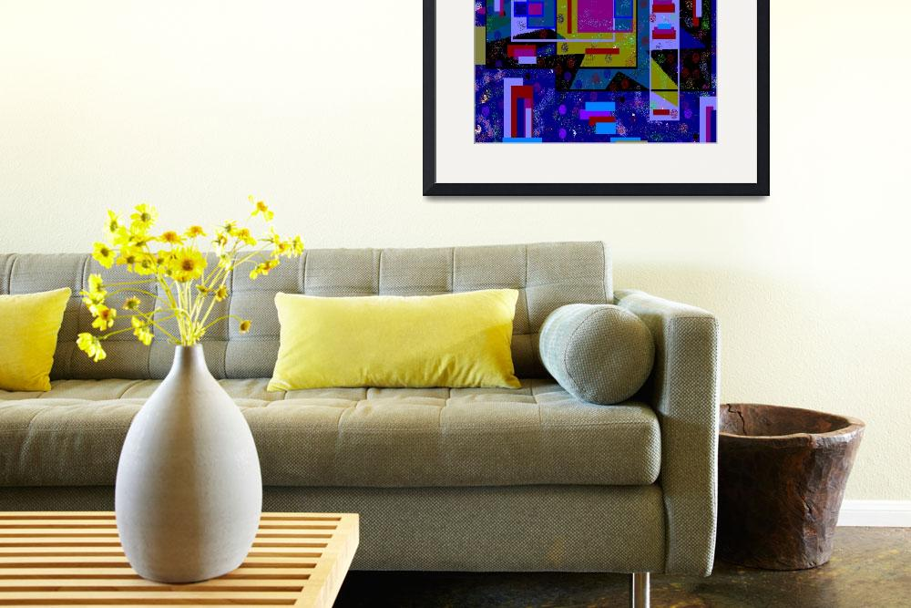 """""""Trisha Blue Water Despair Digital Abstract Art By&quot  (2013) by trishabluewater"""