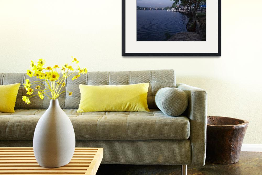"""""""Potomac River from boathouse&quot  by TOMSHEA"""