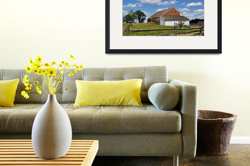 """""""Trostle Barn&quot  by legacyimages"""